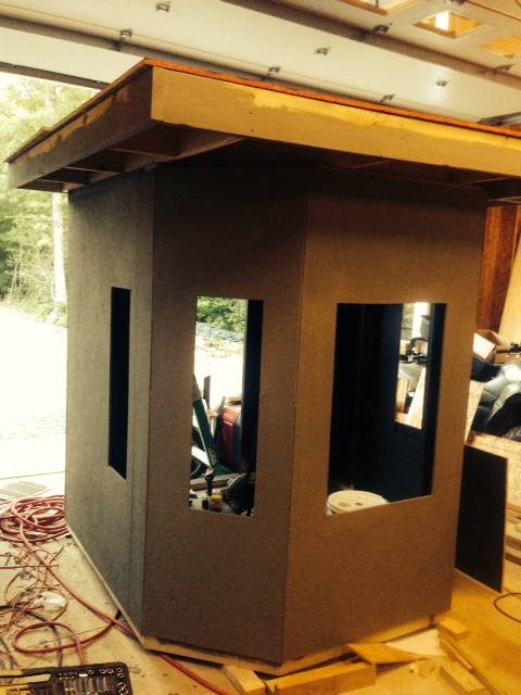 Box Blind Build Deer Hunter Forum